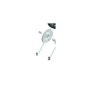 Fig 1 (2,3) - Sea-Doo Oljepumps lock